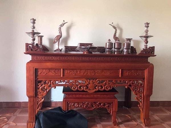 Điểm danh top 30+ mẫu bàn thờ gỗ hương bán chạy nhất hiện nay 866799875